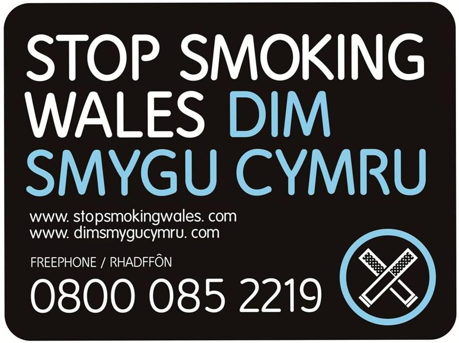 STOP SMOKING WALES DIM SMYGU CYMRU 0800 085 2219